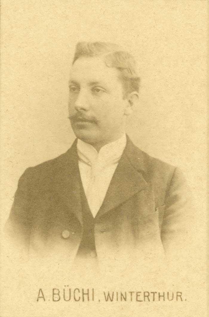 Alfred Büchi (* 11. Juli 1879 ; † 27. Oktober 1959)