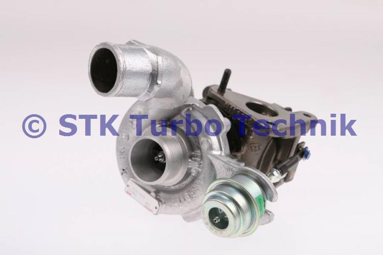 8200091350a - 751768-5004s turbocharger - renault megane i 1.9 dci