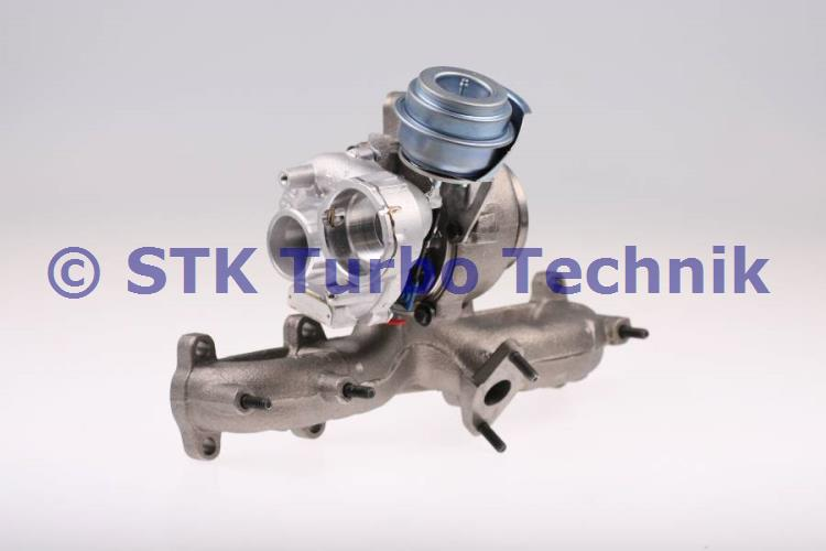03G253014F - 751851-5004S Turbocharger - Volkswagen Touran 1 9 TDI